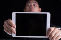 Pokazuje iPad Zdjęcia Royalty Free
