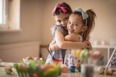 Pokazuje miłości przed Wielkanocnym wakacje obraz stock