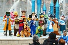 Pokazuje przy Disneyland Paris zdjęcia royalty free
