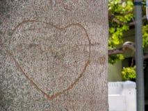 Pokazuje twój miłości Fotografia Stock