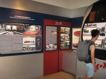 Pokazy przy Hong Kong kolejowym muzeum w Tai Po obraz royalty free
