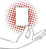 Pokazywać kartę royalty ilustracja