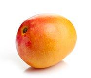 pokazywać pokrojonej kobiety owoc rżnięty owocowy mango Zdjęcia Stock