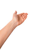 Pokazywać rękę Zdjęcie Royalty Free