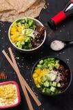 Poke asian food royalty free stock photography