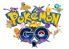Pokemon是 库存例证
