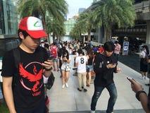 Pokemon идет в Бангкок Стоковая Фотография