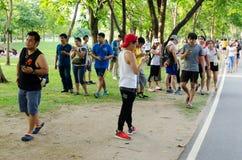 Pokemon идет лихорадка Таиланда Стоковое фото RF