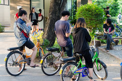 Pokemon идет лихорадка Таиланда Стоковая Фотография