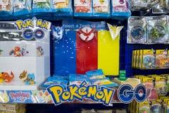 Pokemon идет команда Стоковые Изображения