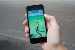 Pokemon идет Стоковые Изображения RF