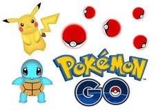 Pokemon идет Стоковые Фотографии RF
