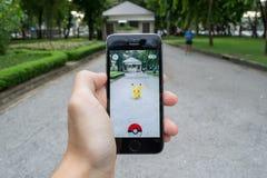 Pokemon идет Стоковое Изображение RF