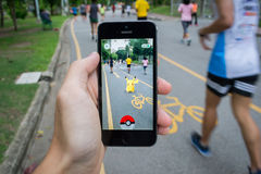 Pokemon идет Стоковое фото RF