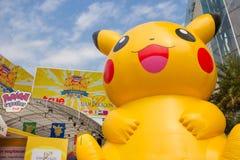 Pokemon совместно в Бангкоке, Таиланде Стоковые Изображения