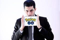 Το Pokemon πηγαίνει Στοκ Εικόνες