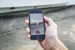 Pokemon是 库存图片