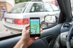 Pokemon去app 免版税库存图片