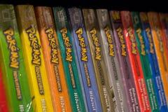 Pokemon comic books Royalty Free Stock Photos