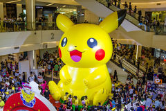 Pokemon Day in Bangkok,thailand Stock Images