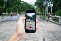 Pokemon disparaissent Images libres de droits