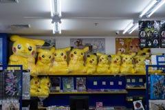 Pokemon dolls Stock Photo