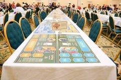 Pokemon Florida Regional tournament: playing table Stock Photo