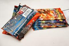 Pokemon Florida tournament: cards Royalty Free Stock Photography