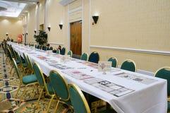 Pokemon Florida tournament: game desk Royalty Free Stock Images