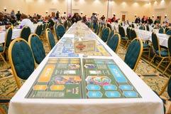 Pokemon Florida tournament: game desk Stock Photos