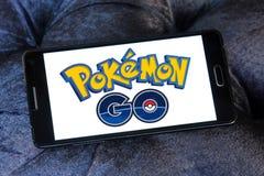 Pokemon går royaltyfri foto