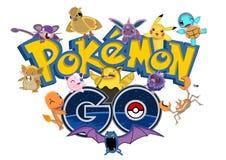 Pokemon gaat stock illustratie