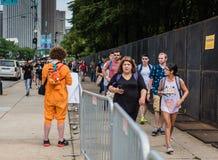 Pokemon gaat Fest - Chicago, IL stock fotografie