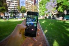 Pokemon gehen APP Stockfotografie