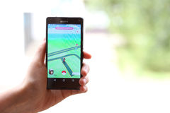Pokemon Go App Stock Photo
