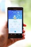 Pokemon Go App Royalty Free Stock Images