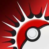 Pokemon go, augmented reality mobile game logo Royalty Free Stock Image