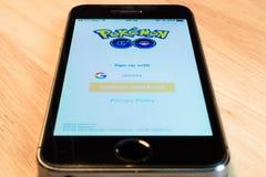Pokemon Go Royalty Free Stock Image