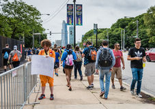 Pokemon Go Fest - Chicago, IL Royalty Free Stock Image