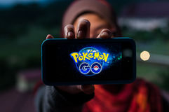 Pokemon Go Royalty Free Stock Photo
