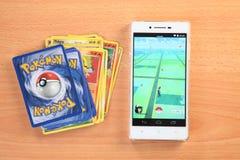 Pokemon go Royalty Free Stock Photos