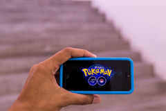 Pokemon Go Royalty Free Stock Images