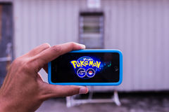Pokemon Go Stock Photography