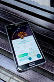 Pokemon Go is a new augmented reality game which lets you walk i. AUG 06, 2016 MOSCOW: Pokemon Go is a new augmented reality game which lets you walk in the real royalty free stock images