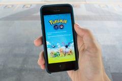 Pokemon Go serwery są puszkiem Zdjęcia Stock