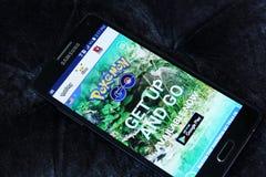 Pokemon go Stock Images