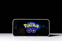 Pokemon Iść Obraz Stock