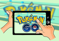 Pokemon Iść royalty ilustracja