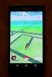 Pokemon iść app Fotografia Royalty Free