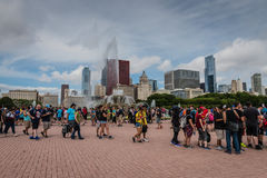 Pokemon Iść Fest - Chicago, IL fotografia stock